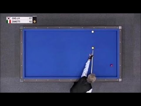 Cho Jae Ho vs. Zanetti | 3 Cushion Worldcup | MUST SEE!!!