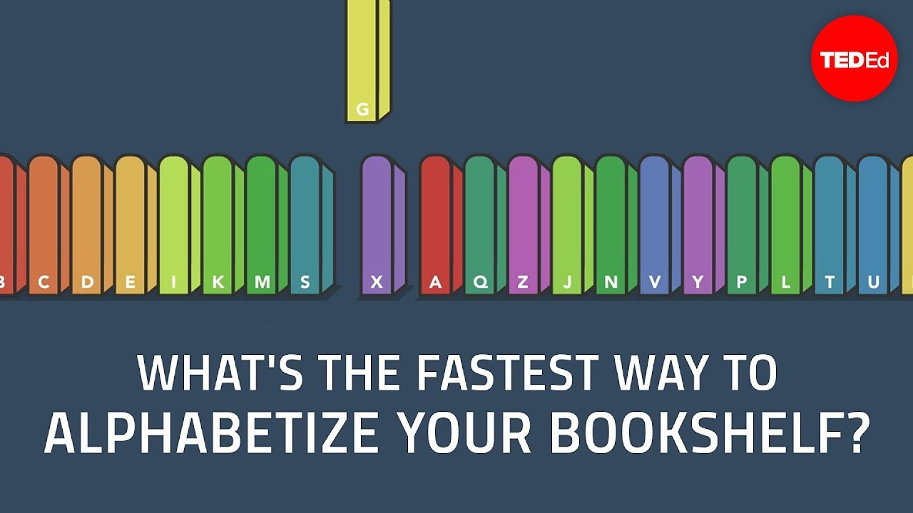 What39s The Fastest Way To Alphabetize Your Bookshelf