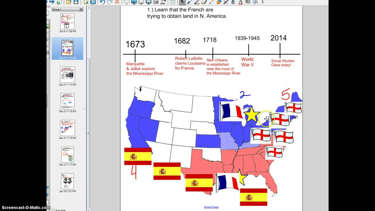 Map Of England France And Spain.Settling America Spain England France Youtube