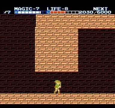 Zelda 2 Great Palace Run