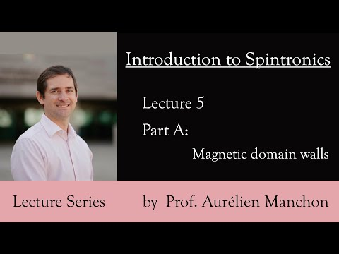 L5PA Introduction to Spintronics: Magnetic Domain Walls