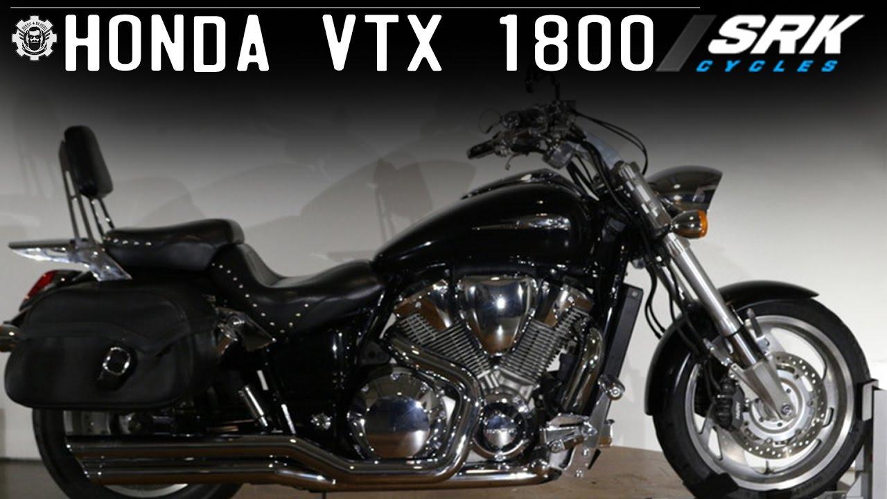 Honda VTX 1800 - YouTube
