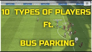 10 Types Of Pes Mobile Players