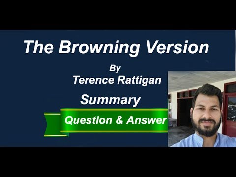 """The Browning Version"" 