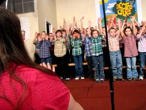 Acorns to Oaks - All School Musical March 2011