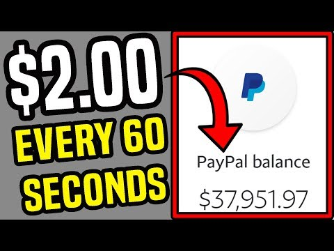 How To Earn PayPal Money FAST Right NOW! (Make Money Online)