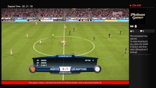 Fifa16 pro clubs with NFK and Guardian and abidon
