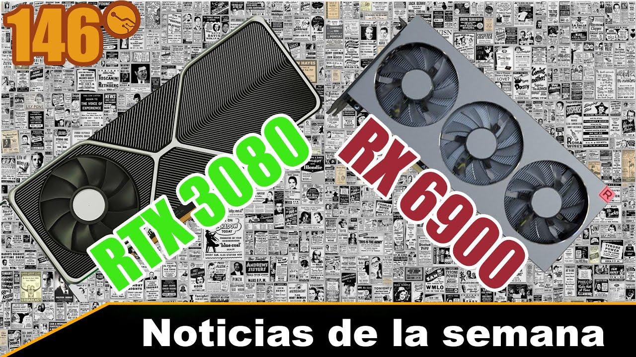 RTX 3080 / RTX 3090 vs RX 6900 XT rendimiento filtrado - Noticias de la semana 146