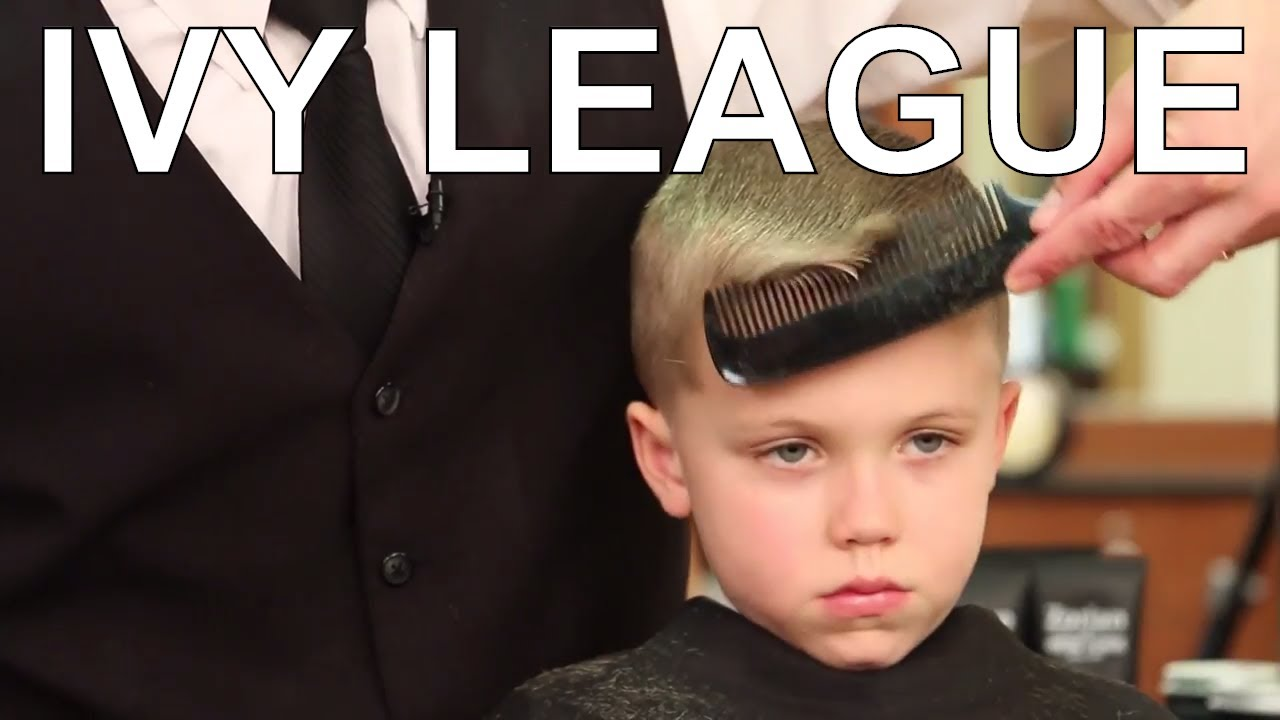 How To Cut And Style A Childrens Ivy League Haircut Greg Zorian