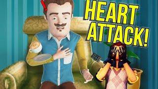 Hello Neighbor Has a HEART ATTACK! | Horrible Hello Neighbor Rip off Games