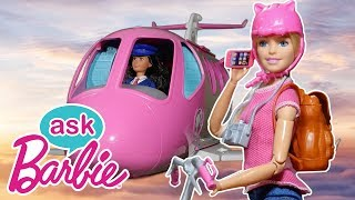 Ask Barbie About Traveling!   Barbie