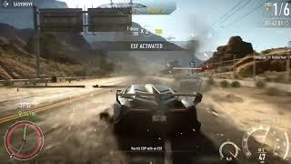 Need for Speed  Rivals -Final race -Ending scene -Lamborghini Veneno