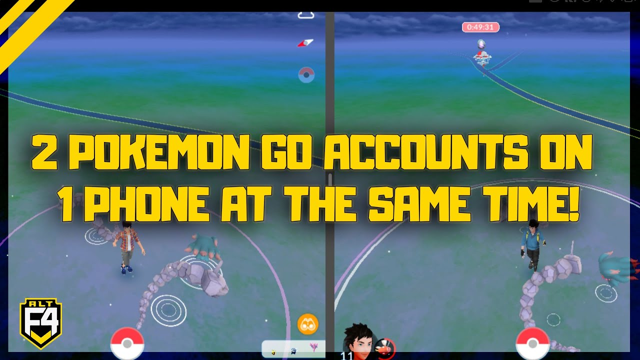 Run 2 Pokemon GO Accounts on 1 Phone at the same time!