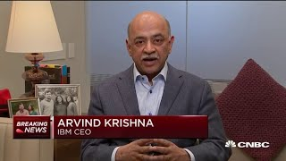 Watch CNBC's full interview with new IBM CEO Arvind Krishna