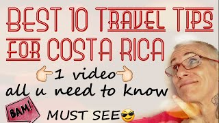 BEST Costa Rica Travel Tips MUST SEE