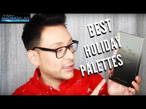 My Favorite Makeup Palettes for Anyone on your List this Year | Pt. 3 | mathias4makeup