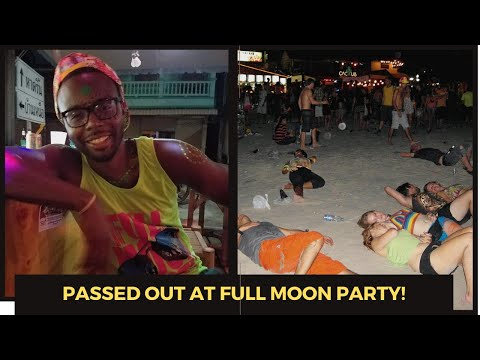 Thailand Travel Vlog Part 5: The Lost Files Full Moon Party!