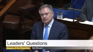 Minister Brendan Howlin taking Leaders Questions, 10th April 2014