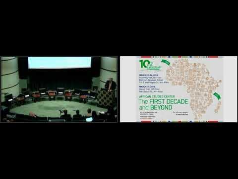 Keynote Address by U-M President Emerita Coleman/Presidential Panel: ASC 10th Anniversary Symposium