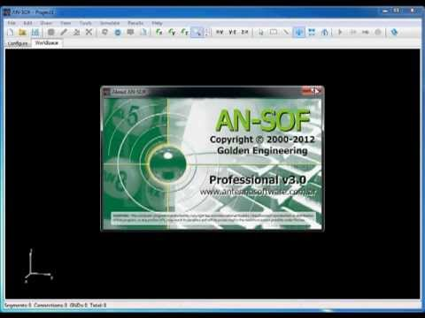 AN-SOF Antenna Modeling and Design Software - Tutorial #3: Dual-Band Microstrip Antenna
