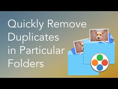 How to Find Duplicates on Mac and Remove Them in a Particular Folder