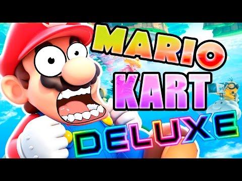 MARIO KART 8 DELUXE !! OMG !!   Nintendo Switch