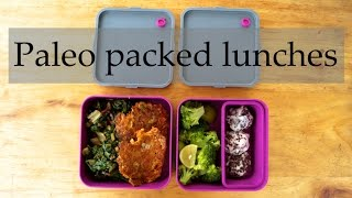 Three Paleo / HFLC packed lunch ideas