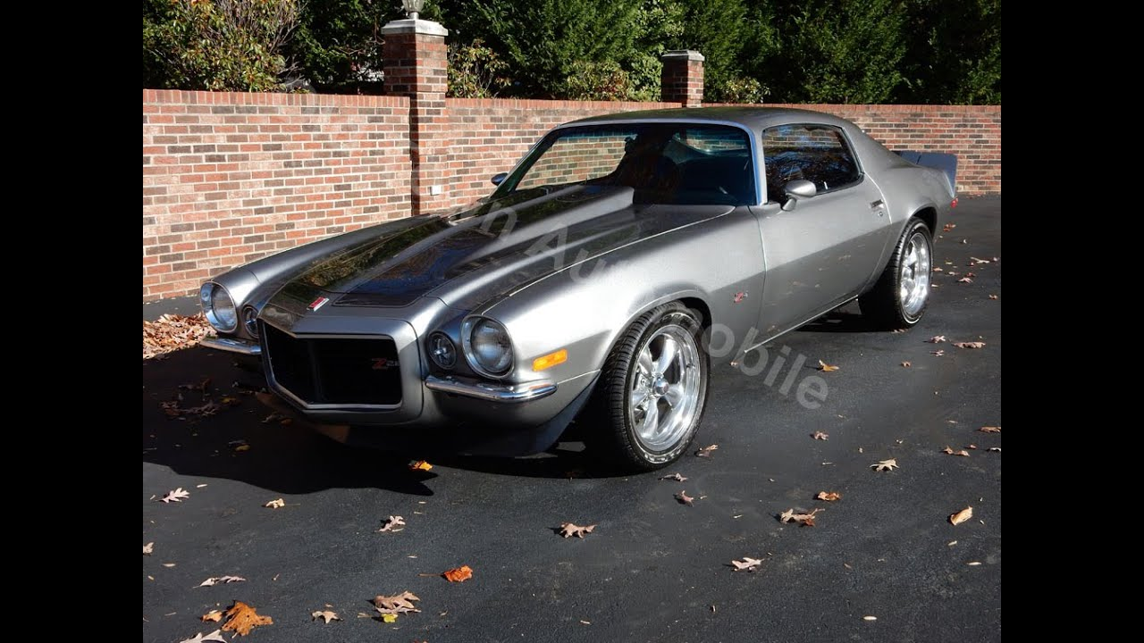 1973 Camaro Rs Z28 For Sale Old Town Automobile In Maryland Youtube