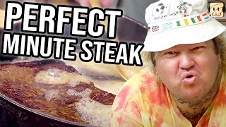 We Learn To Cook The PERFECT Minute Steak from Matty Matheson