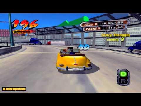 CRAZY TAXI 3   Impresionante gameplay con EDDisplay y Craker