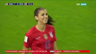 FIFA Kadınlar Dünya Kupası / ABD - Tayland Maç Özeti