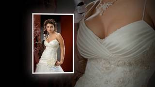 презентация свадебного платья и украшения к нему