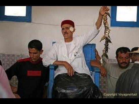 Tunisie Djerba Houmt-Souk le marché et sa Criée aux poissons