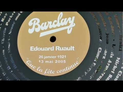 TOMBE D'EDDIE BARCLAY(Edouard Ruault), AU CIMETIERE MARIN DE ST TROPEZ