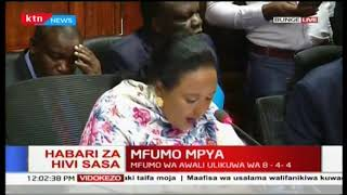 Habari za sasa hivi,Amina Mohamed,Mfumo mpya wa Elimu,2-6-3-3-3