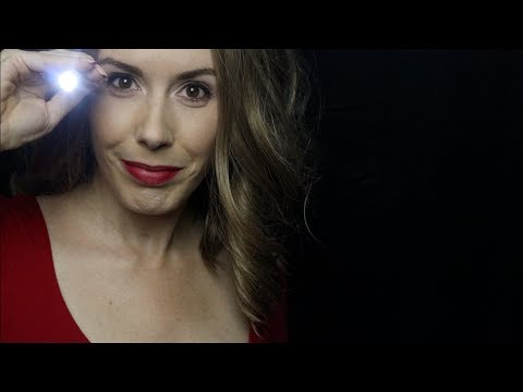 Very Serious and Intense Light Exam Role Play (ASMR)