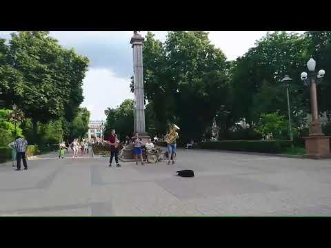 Новини Тернополя 20 хвилин: Вуличний оркестр на Театральному майдані