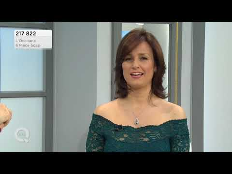 ab57c69129 QVC UK presenter Catherine Huntley L Occitane beauty products 100516