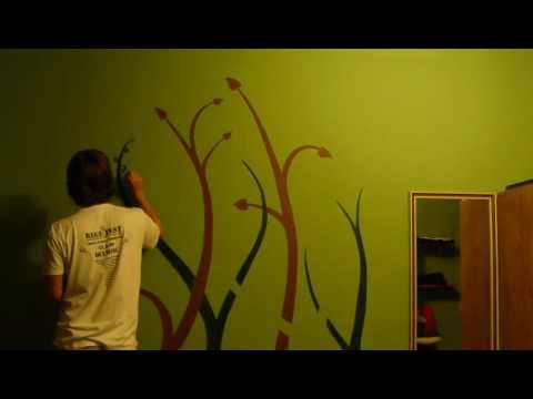Wall painting - YouTube