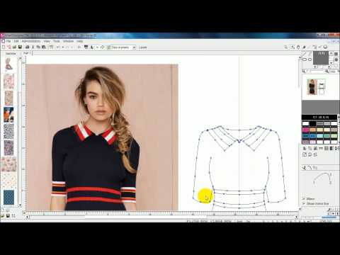 Fashion Design Cad Smartdesigner Youtube