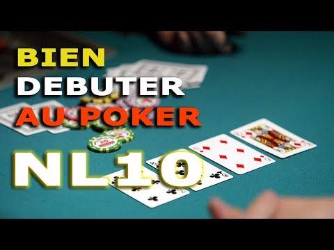 BIEN DÉMARRER AU POKER - CASH GAME NL10 (0.05/0.10€)