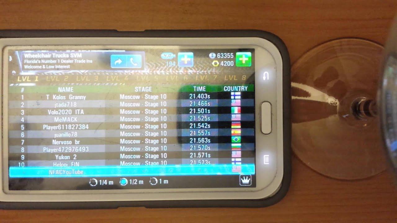 Tune Drag Racing 4x4 Titan level 4