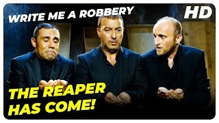 Cops are chasing Onur!  | Write Me A Robbery Turkish Comedy Movie English Subtitles