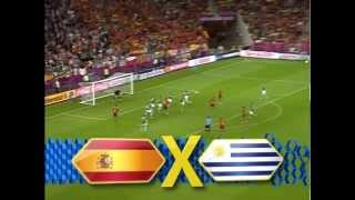 Chamada Globo: Espanha X Uruguai (Copa das Confederações 2013)
