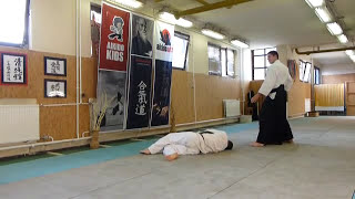 yokomen uchi shihonage omote [AIKIDO]  basic technique