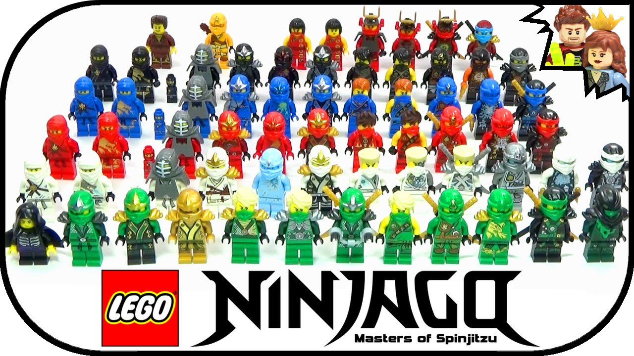 BrickQueen LEGO Ninjago Ultimate Ninja Complete Minifigure ...