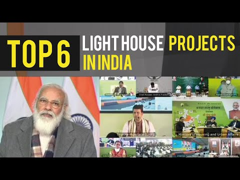 Top 6 Light House Projects (LHPs) Under Global Housing Technology Challenge India | InfraNews
