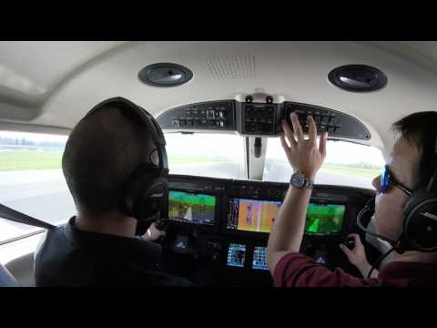 AOPA Test flight and Review of the Piper M600 - Approach
