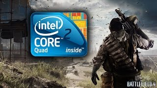 Battlefield 4 - Intel core 2 Quad Q6600 2.4 GHz / GTX 550 ti - Part 1