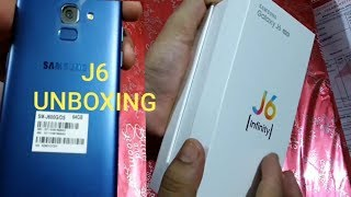 Samsung Galaxy J6 4GB/64GB (Infinity) Unboxing || Galaxy J6 Review And Specifications ||